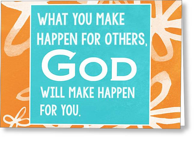 Inspirational Prayers Greeting Cards - Gods Gift Greeting Card by Linda Woods