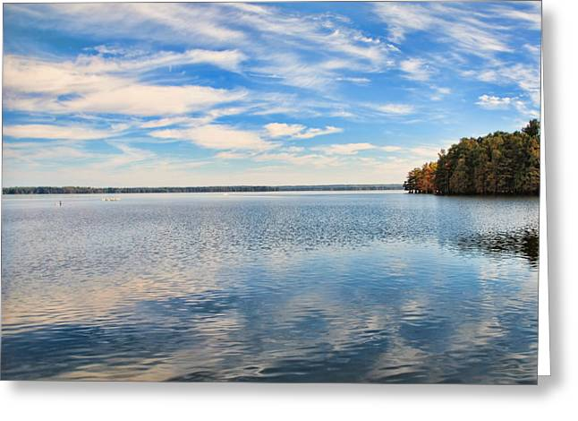 Reelfoot Lake Greeting Cards - Gods Glorious Beauty Greeting Card by Jai Johnson