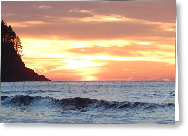 On The Beach Greeting Cards - Gods Promise Greeting Card by Paul Eubanks