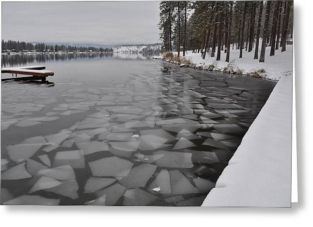 Spokane Greeting Cards - Gods puzzle Greeting Card by Ana Lusi
