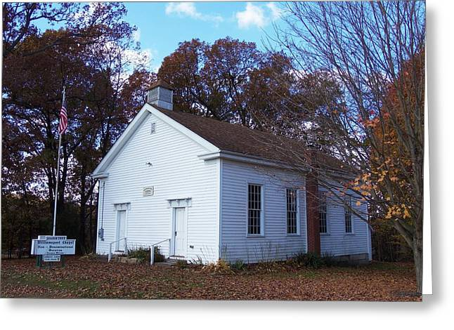 Williamsport Greeting Cards - Goin to the Chapel Greeting Card by Monnie Ryan