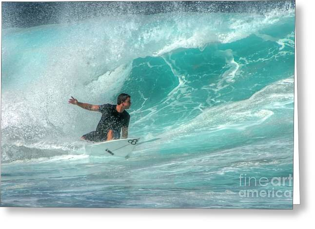 Maui Greeting Cards - Going back for more Greeting Card by Andy Jackson