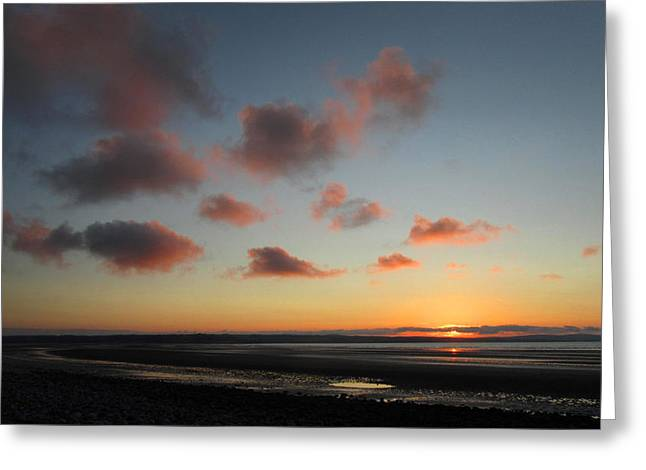 Beach At Night Greeting Cards - Going Going Gone Greeting Card by Andrew James