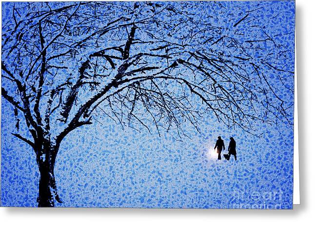 Digitally Created Greeting Cards - Going Home Greeting Card by Edmund Nagele