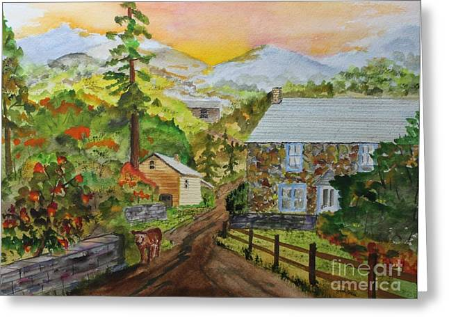 Going Home Greeting Card by Jack G  Brauer