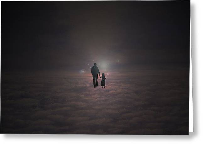 Going Home Greeting Card by Ken Figurski