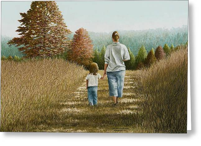 Going Home Greeting Card by Mary Ann King