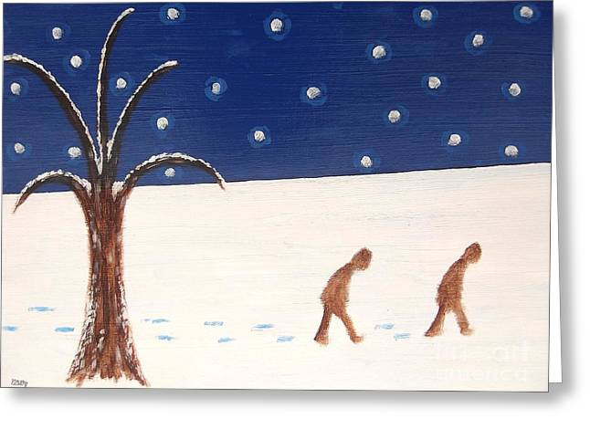 Going Home  Greeting Card by Patrick J Murphy