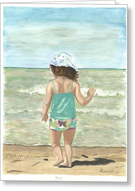 Going Greeting Card by Janis  Cornish