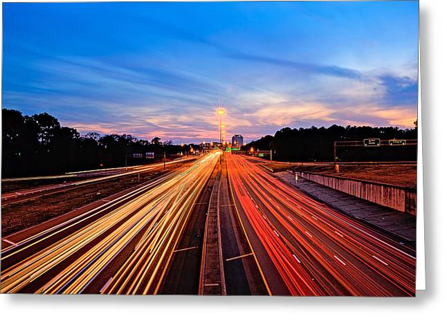 Usa Photographs Greeting Cards - Going to Jackson Greeting Card by Maria Coulson
