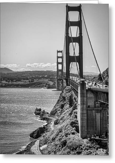 Coast Hwy Ca Greeting Cards - Going to San Francisco Greeting Card by Heather Applegate