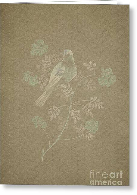 Becky Digital Art Greeting Cards - Gold Finch-2 PhotoArt Greeting Card by Becky Hayes