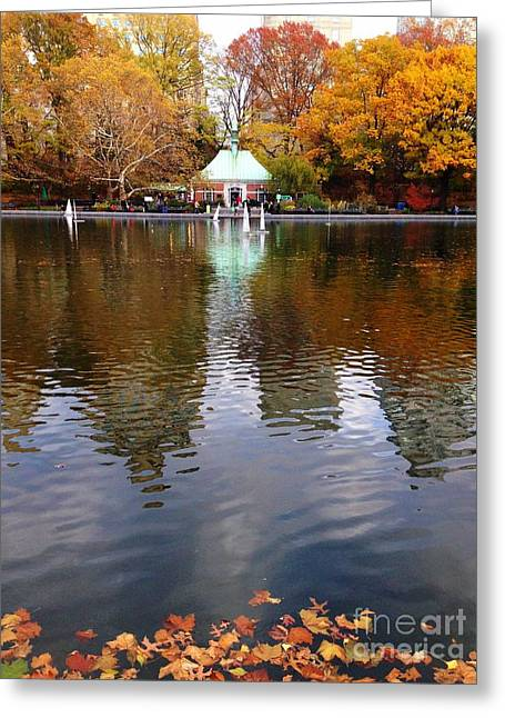 Toy Boat Greeting Cards - Golden Conservatory Greeting Card by Donald Groves