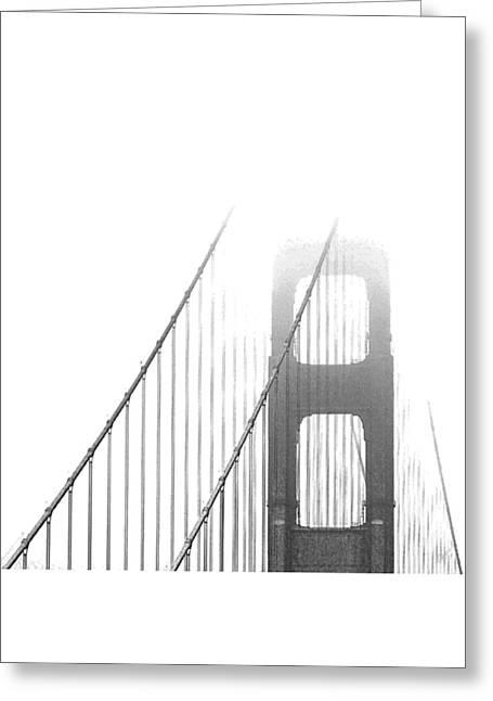 Golden Gate Bridge Greeting Card by Ben and Raisa Gertsberg