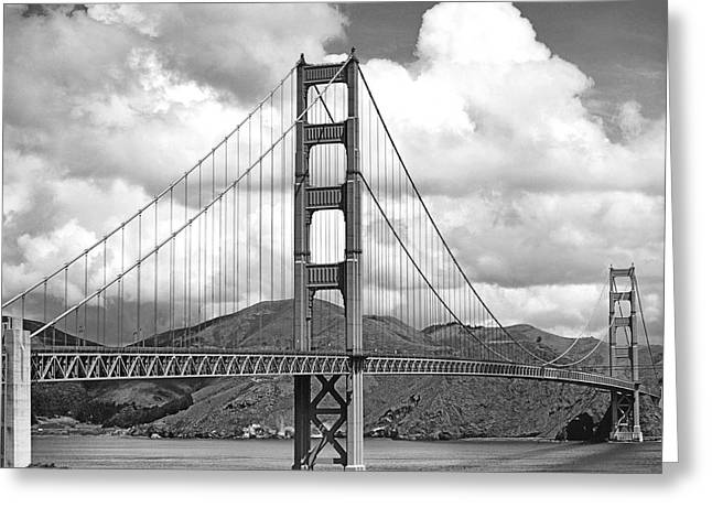 Golden Gate Bridge Greeting Card by Don Knight