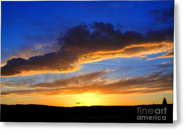My Ocean Greeting Cards - Golden hour Greeting Card by   FLJohnson Photography
