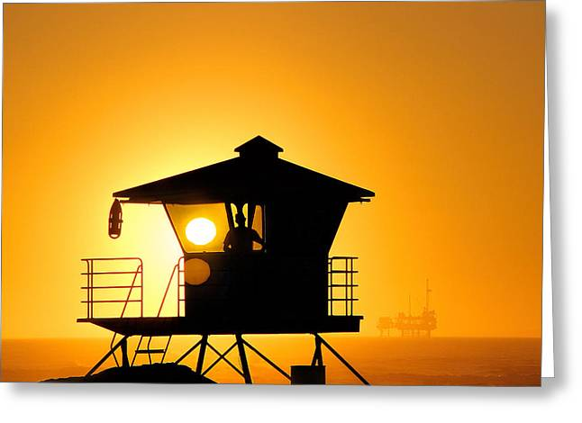 Tammy Espino Greeting Cards - Golden Hour Greeting Card by Tammy Espino