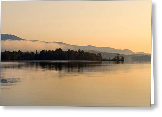 GOLDEN HOURS Greeting Card by Skip Willits