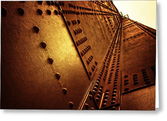 Rivets Greeting Cards - Golden Mile Greeting Card by Andrew Paranavitana