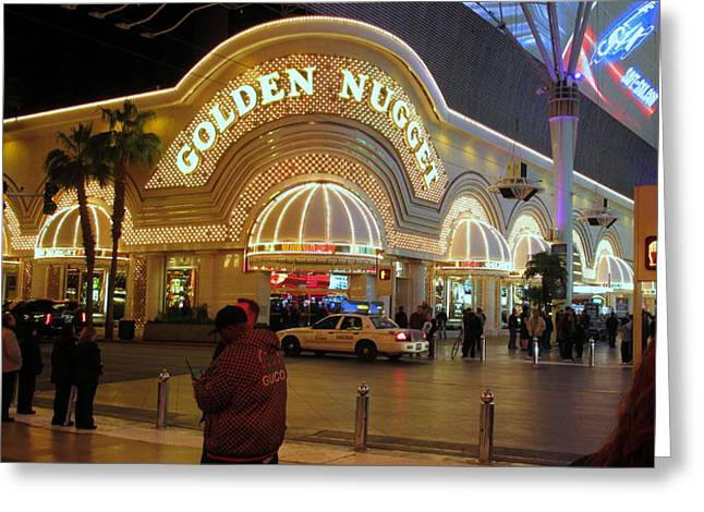 Owner Digital Greeting Cards - Golden Nugget Greeting Card by Kay Novy