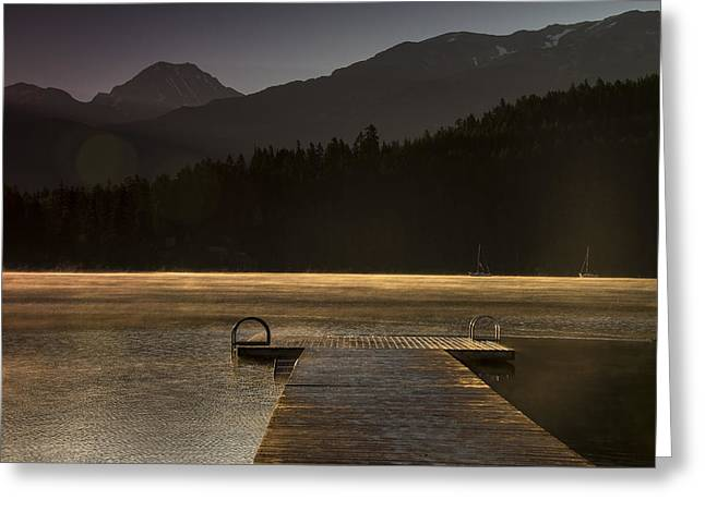 British Columbia Greeting Cards - Golden Opportunity Greeting Card by Aaron S Bedell
