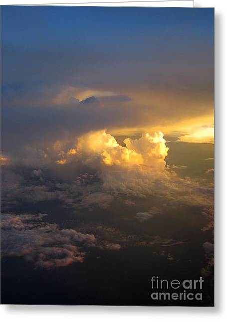 Empower Photographs Greeting Cards - Golden Rays Greeting Card by Ausra Paulauskaite