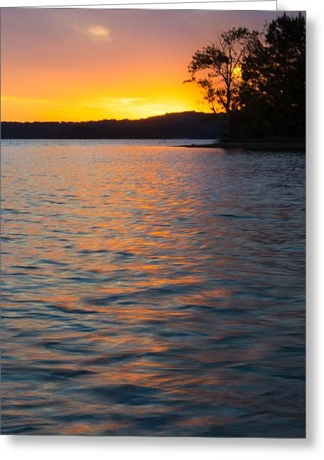 Tropical Island Greeting Cards - Golden Reflections Greeting Card by Parker Cunningham