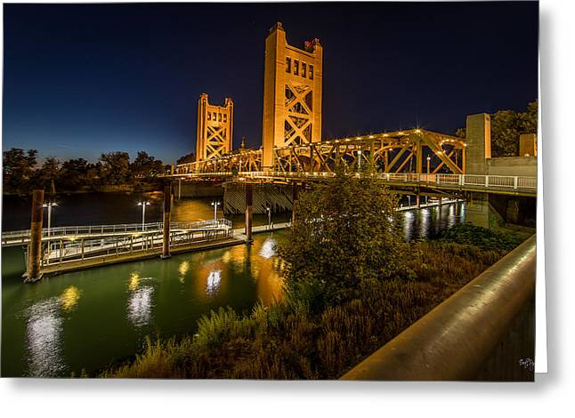 Sacramento Greeting Cards - Golden Towers Greeting Card by Everet Regal
