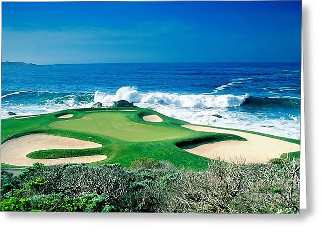 Golf Greeting Cards - Golf Course Beauty Greeting Card by Marvin Blaine
