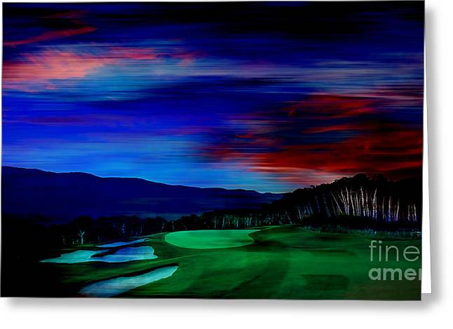 Golf Greeting Cards - Golf Greeting Card by Marvin Blaine