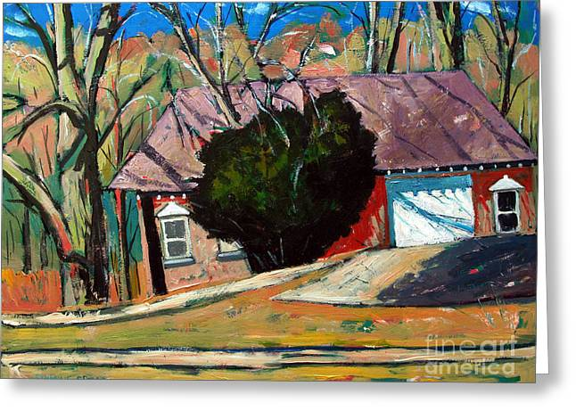 Golf Shed Series No.13 Greeting Card by Charlie Spear