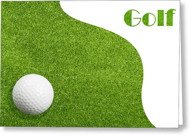 Golfing Photographs Greeting Cards - Golfiing Greeting Card by Amanda And Christopher Elwell