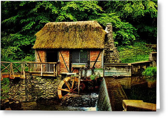 Grist Mill Greeting Cards - Gomez Mill Greeting Card by Pamela Phelps