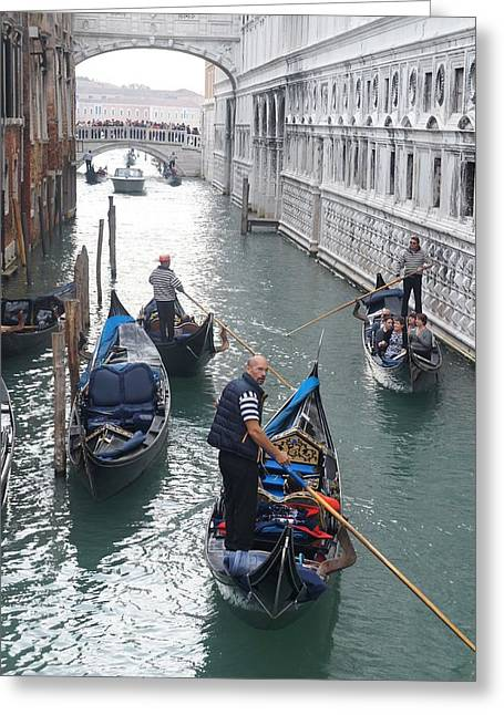 Gondola  Greeting Card by Kristine Bogdanovich