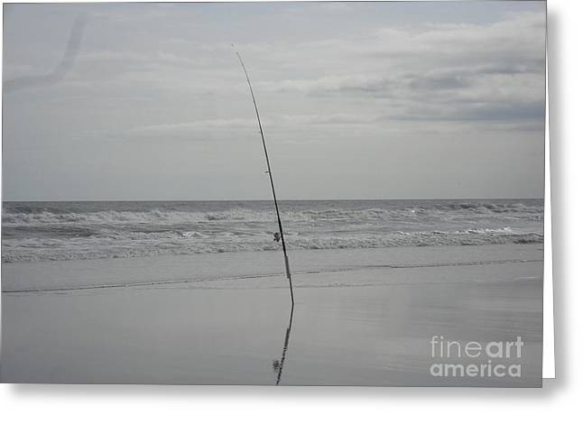 Gone Fishing Greeting Card by Laurie D Lundquist