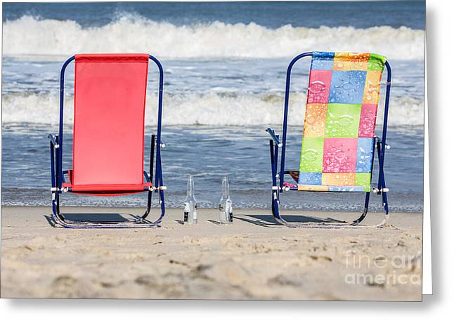 Rodanthe Greeting Cards - Gone for a Walk Greeting Card by Kay Pickens