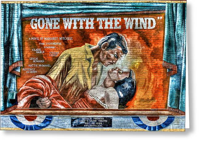 Pulitzer Greeting Cards - Gone With The Wind Greeting Card by Reid Callaway