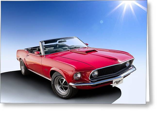 Sportscar Greeting Cards - Good Day Sunshine Greeting Card by Douglas Pittman