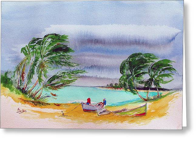 Dry Tortugas Paintings Greeting Cards - Good Decision Greeting Card by Rob Beilby