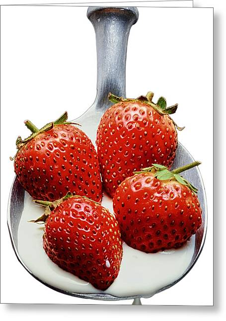 Wimbledon Photographs Greeting Cards - Good enough to Eat Greeting Card by Jon Delorme
