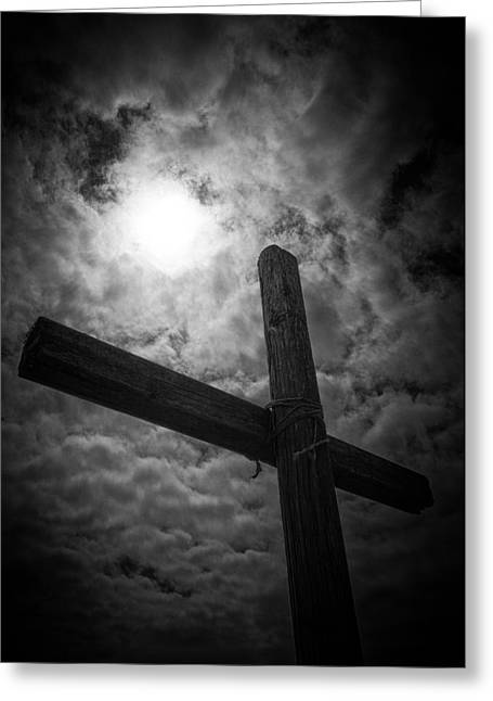 Crucifiction Greeting Cards - Good Friday Greeting Card by Caitlyn  Grasso