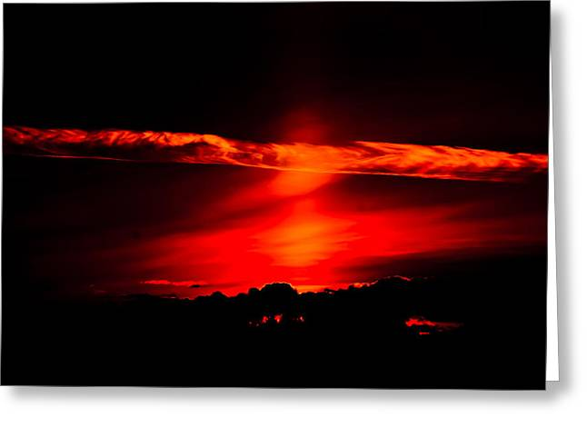 Bainbridge Island Greeting Cards - Good Friday Sunset IV Greeting Card by Ronda Broatch