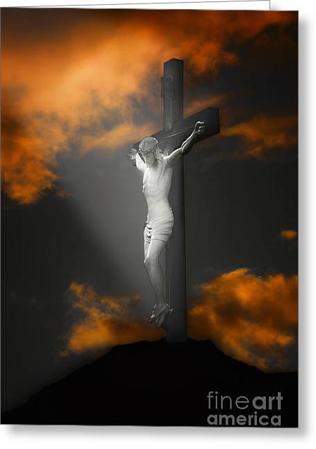 Thomas York Greeting Cards - Good Friday Greeting Card by Tom York Images