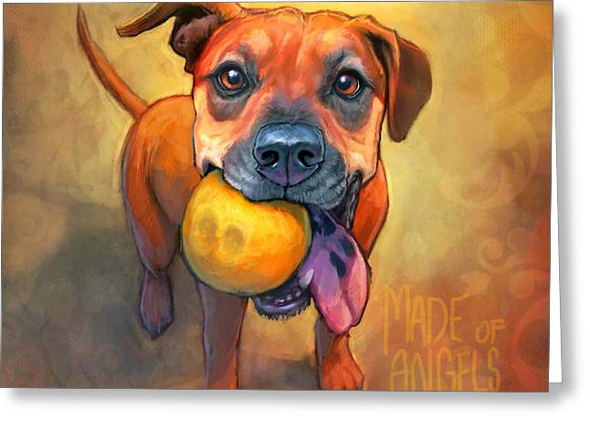 Paws Greeting Cards - Good Karma Greeting Card by Sean ODaniels