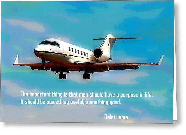 Paper Airplanes Paintings Greeting Cards - Good Greeting Card by Lanjee Chee