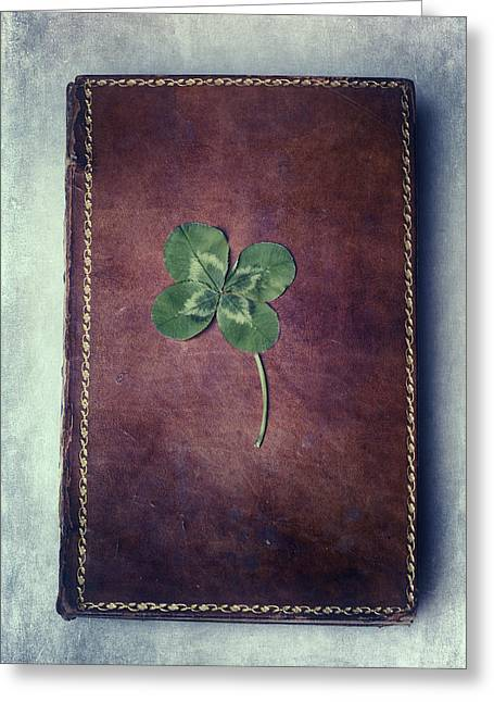 Books Greeting Cards - Good Luck Greeting Card by Joana Kruse