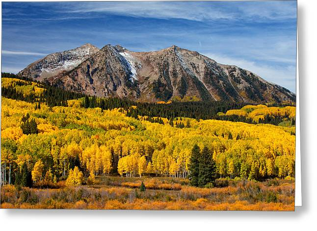 Colorado Greeting Cards - Good Morning Colorado Greeting Card by Darren  White