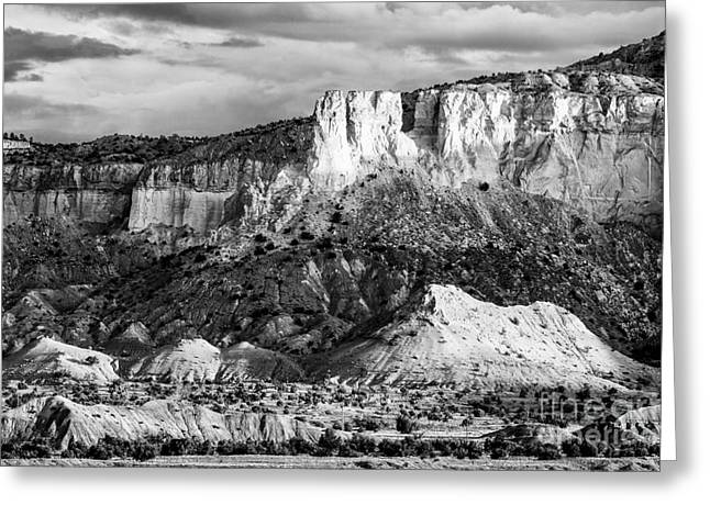 Indiana Landscapes Greeting Cards - Good morning Ghost Ranch - Abiquiu New Mexico Greeting Card by Silvio Ligutti
