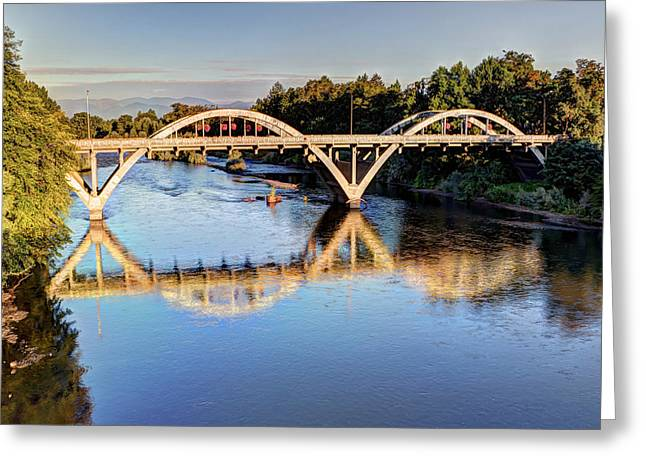 Heidi Smith Greeting Cards - Good Morning Grants Pass II Greeting Card by Heidi Smith