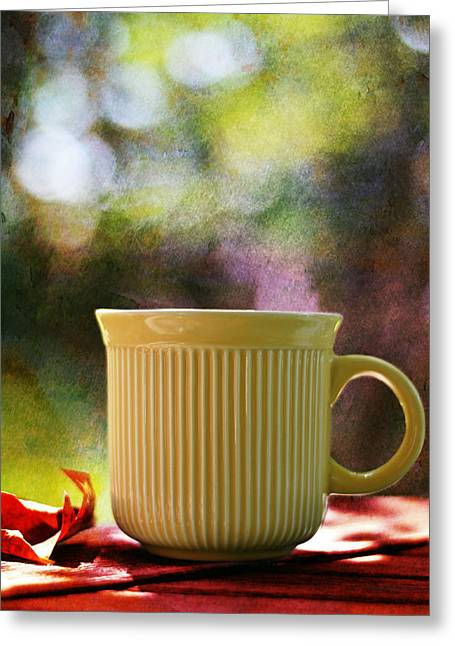 Good Morning Greeting Card by Laura Fasulo